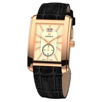 Золотые часы НИКА 1241.0.1.45