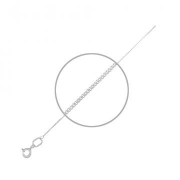 Цепочка TALANT, плетение Панцирь, из серебра