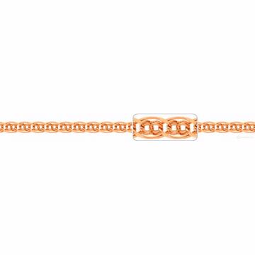 Цепочка, плетение Нонна-Бисмарк, из золота