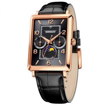 Часы наручные Sokolov 233.01.00.000.06.01
