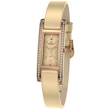 Золотые часы НИКА Lady Роза 0446.2.1.45