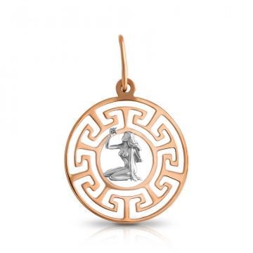 Подвеска TALANT из золота, знак зодиака Дева
