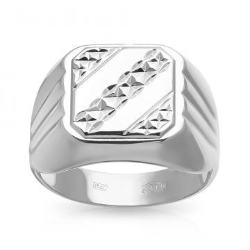 Кольцо-печатка SOKOLOV из серебра